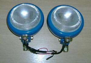 Fordson Super Major New Performance Front Grill Lamps ready to paint and fit *