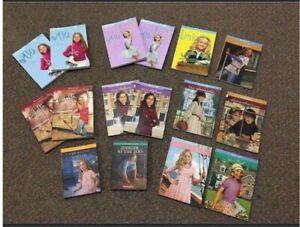 American girl books and DVD