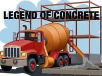 All concrete work you need