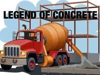 The best concrete work