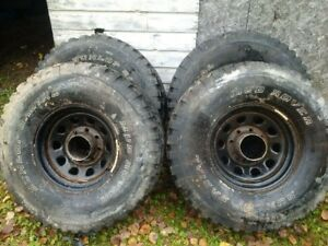 Tire and rim set Lt315/75R/16