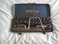 Vintage Gedore Socket Set