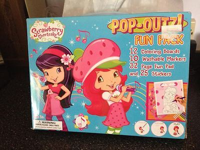 - Strawberry Shortcake Jumbo Pop Outz Fun Pack Activity Craft Kit Brand New