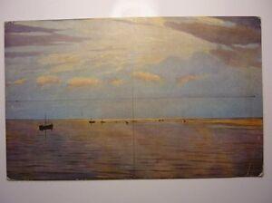 Antique-Russian-Postcard-N-N-Doubovski-On-The-Volga