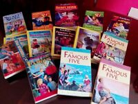 14 Famous Five and Secret Seven books by Enid Blyton (great condition)