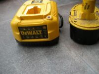Dewalt chager and battery
