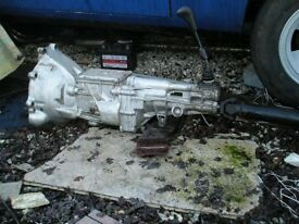 Ford V6 gearbox suit Reliant Sierra Granada Cortina TVR