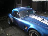 AC Cobra hardtop Dax Pilgrim kitcar