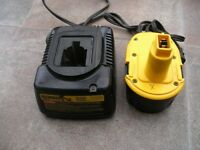 Dewalt 110V charger and battery