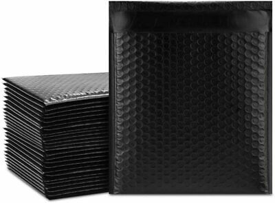 0 6.5x10 Black Poly Bubble Mailers Shipping Mailing Padded Envelopes Color