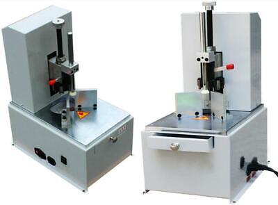 Automatic Round Corner Fillet Paper Cutter Machine W 7 Dies R3-r9 For Book Card