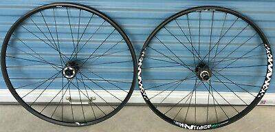 29er Ryde Trace 25 asymetrical disc bike wheels rear 142-12mm 100-15mm thru axle