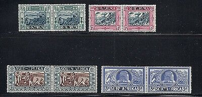 South West Africa 1938 Voortrekker Pairs F Vf Mh  Read Desc