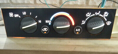 Chevy GMC Truck Heater A/C Climate Control 96-99 09378815 C/K   I1320815