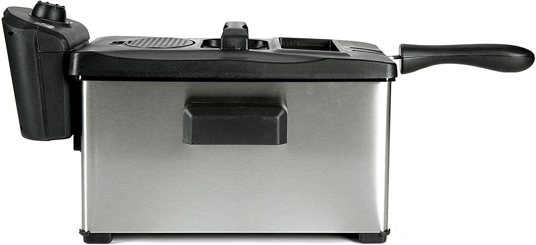 Elite Cuisine EDF-3507 Maxi-Matic 3.5 Quart Immersion Deep F
