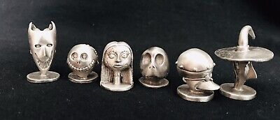 Sally Nightmare Before (Pewter Nightmare Before Christmas Jack Sally Monopoly Tokens Metal Figurines)