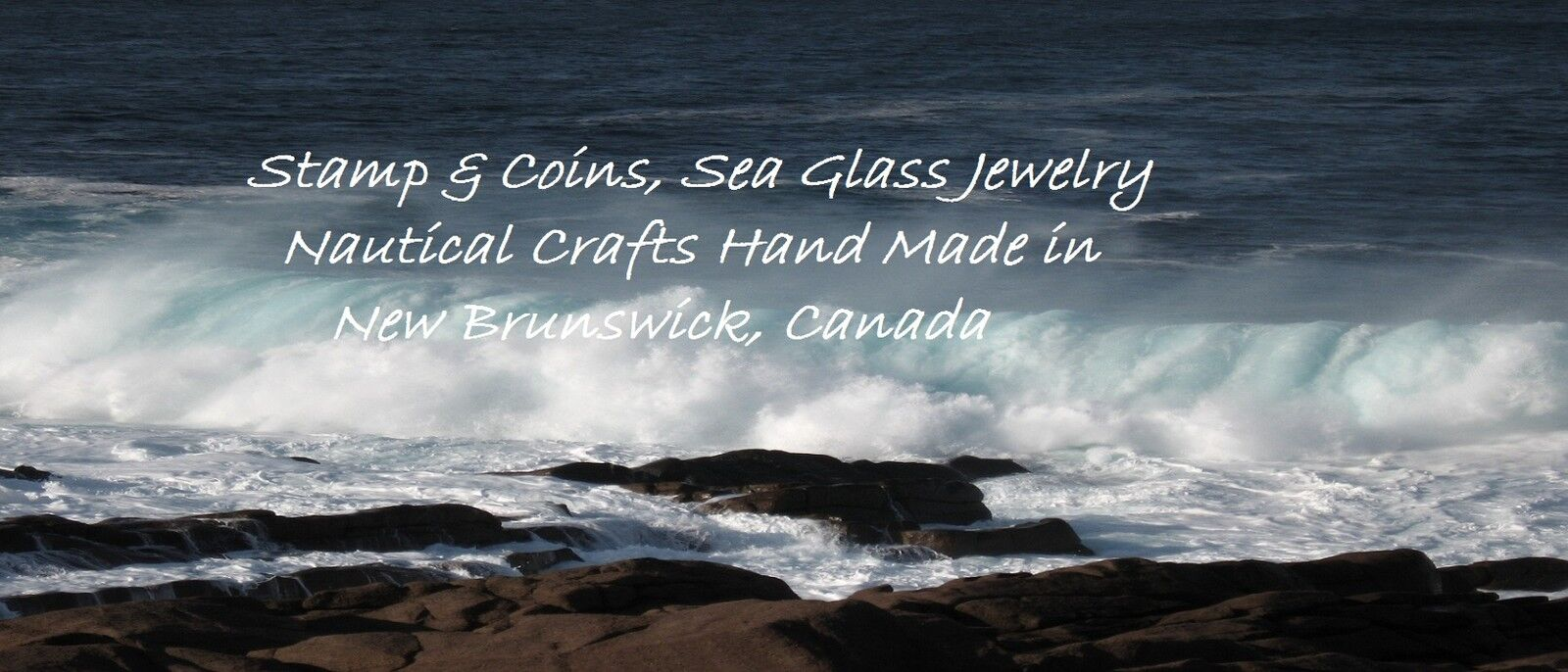 Coins-Stamps & Seaglass Jewelry