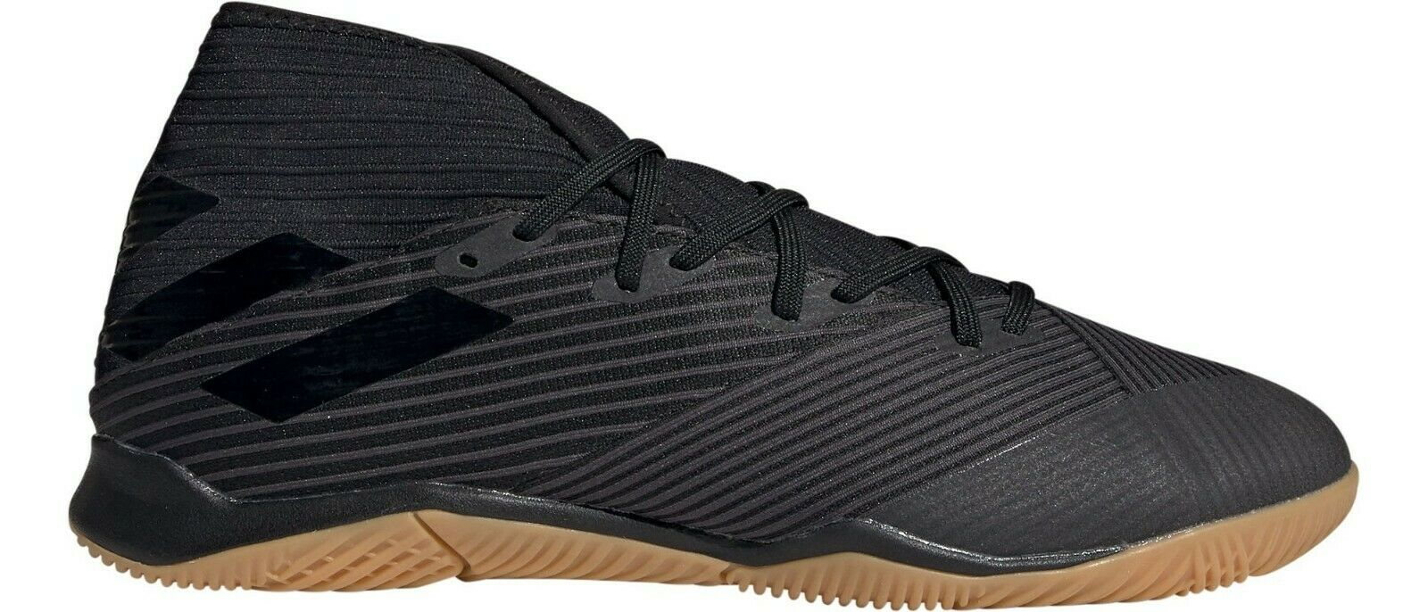 Adidas Men's NEMEZIZ 19.3 Indoor Soccer Shoes Black F34413 d