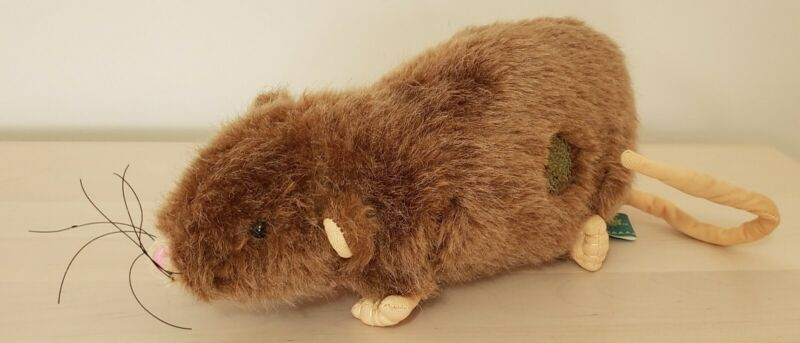 Wizarding World of Harry Potter Plush 9 inch Rat Scabbers Rat Ron Weasley Pet