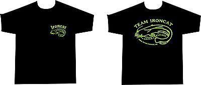 Team Ironcat T-Shirt Kapu Hoodie für Angler Angeln Wels Waller Schaidfisch