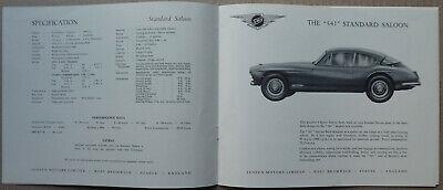 Rare 1957 Jensen Model '541' brochure