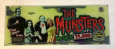 "Williams slant top glass ""The Munsters"""