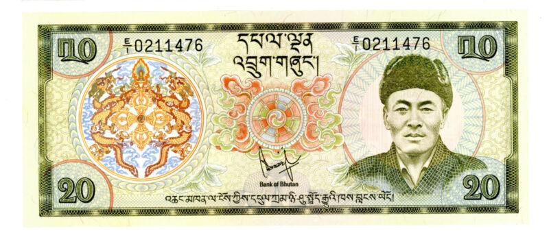 Bhutan … P-9 … 20 Ngultrum … ND(1981) … *UNC*