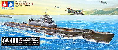 Tamiya 78019 Japanese Navy SUBMARINE I-400 1/350 scale kit