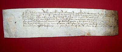 1428 JEAN DE VILLIERS - Marschall von Frankreich - Gegner von JEANNE D'ARC