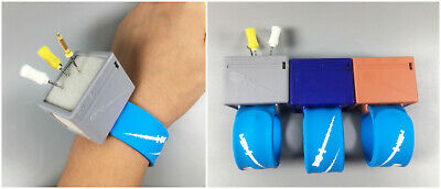 3pc Dental Endo Wrist Watch Holder Sponge Organizer Cleaning Endodontic Files