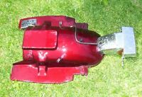 Honda Goldwing GL1200 rear fender taillight brake light license