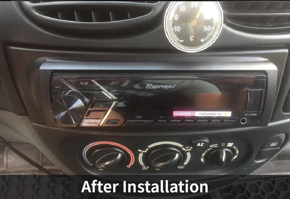 1 Din Radio Fascia For Renault Megane I Scenic Stereo Panel Dash Mount Trim Kit