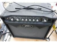 Electric guitar AMP Peavy moddeling amp
