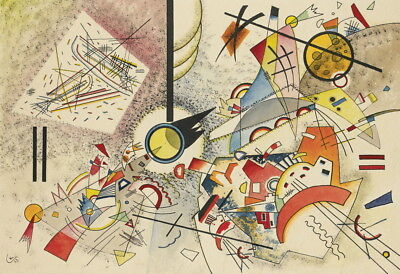 Wassily Kandinsky Untitled Giclee Canvas Print Paintings Poster Reproduction, used for sale  Shipping to Canada
