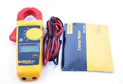 New Fluke 302 F302 Handheld Digital Clamp Meter Multimeter Tester Acdc Volt