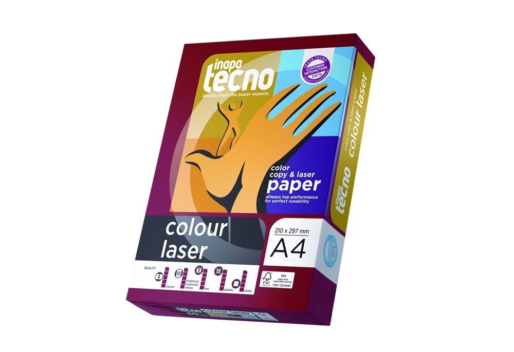Inapa Tecno Colour Laser Kopierpapier 80 90 100 120 160 190 210 250 280g/m² A4/3