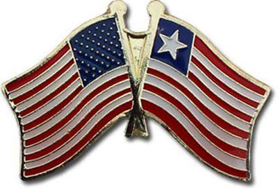 Wholesale Pack of 50 USA American Liberia Flag Hat Cap lapel Pin
