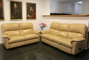 3 seater & 2 seater Leather Lounges / Couches Queanbeyan Queanbeyan Area Preview