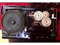 Sony ICF-7601L Travel Portable Radio, World Receiver, Original Instructions