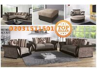 Shannon corner 3 & 2 seater sofa armchair swivel chair footstool black grey brown mink cream beige