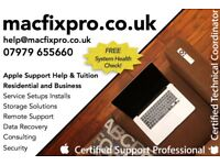Apple Mac Help & Tuition