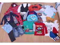 Bundle of boys clothes 5 - 6 yrs