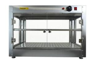 Commercial Counter Top Food Pizza Pastry Warmer Wide Display Case 30 wide - FREE SHIPPING
