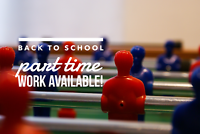 Student Work Opportunities – Part-Time/Full-Time Positions