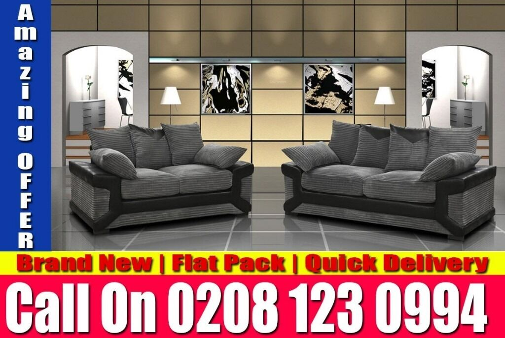 BEST LOOKING JUMBO CORD SOFA CORNER GREY BLACK SOFA ALSO 3 AND 2 SEAT North Aurorain Holloway, LondonGumtree - COLOUR Black and Grey OR Brown and Beige DIMENSIONS Corner Sofa Width 245cm Corner Sofa Depth 230cm Corner Sofa Height 92cm 3 Seater 210cm x 89cm x 92cm 2 Seater 180cm x 89cm x 92cm