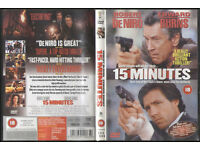 15 Minutes DVD