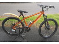 Orange P7 Pro Mountain Bike. Just Serviced.