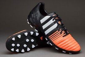 adidas Mens Nitrocharge 3.0 AG Football Boots Size UK 8 Brand New (#X219)