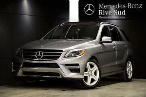 2014 Mercedes-Benz M-Class ML550 4MATIC, Cuir Brun, Hitch