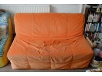 Double sofa bed IKEA LYCKSELE HAVET - in very good state, comfortable bed, can be used every night